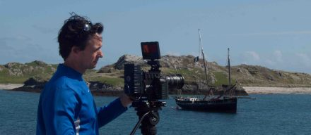 Filiming on Inishbofin