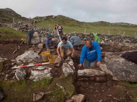 Excavations on Inishbofin 2013